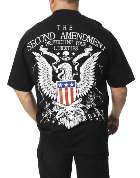Lethal Threat Designs Pinstripe Eyeball Work Shirt