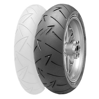 Hypersport Radial Rear Tire Continental Conti Sport Attack 2 160//60ZR-17